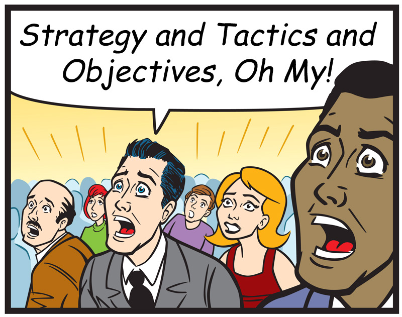 comic-strategy-tactics-objectives