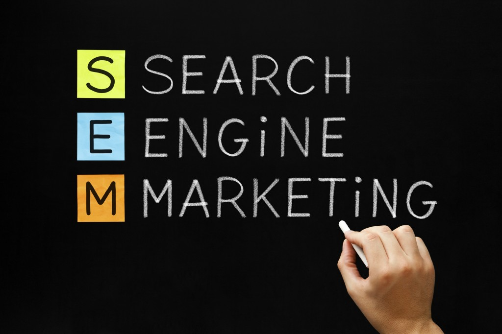 Search Engine Marketing Acronym