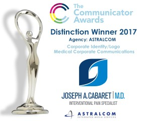 Communicator Award  of Distinction