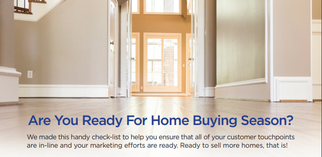 It's Homebuying Season – Get the Checklist