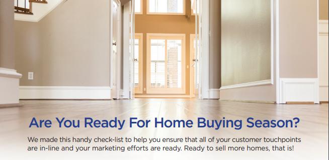It's Homebuying Season – Get the Checklist